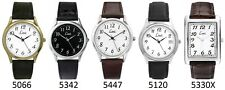 Limit Classic Easy Reader White Dial Gents Basic Strap Watch