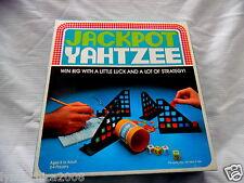 Vintage 1980 Jackpot Yahtzee By Milton Bradley Complete
