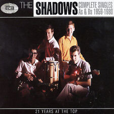 THE SHADOWS: Complete Singles As &  Bs 1959-1980 (CD) 4-DISC SET, NEW & SEALED