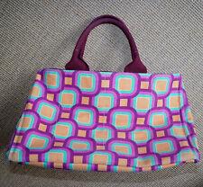 PRADA Shopper Handtasche Rarität, unverkäufliches Modell Canvas Violett Grün Gel