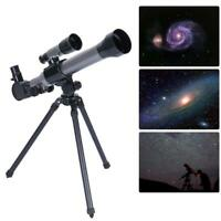 Outdoor Monocular Astronomical Telescope With Tripod Portable Toy Children R3E9