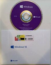 Microsoft Windows 10 Professional Win 10 Pro DVD + COA OEM 64bit Vollversion DE