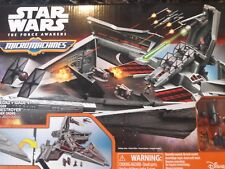 NEW Micro Machines Star Wars The Force Awakens First Order Star Destroyer SET