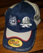 Connecticut UConn Huskies basketball Yankee council Boy Scouts Cap Hat 100  yrs. 4b43253f8cee