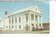 Bethany Methodist Church Pocomoke City Maryland Chrome Postcard 2267
