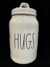 Rae Dunn HUGS Canister | Cookie Jar | Treats Container | Artisan Collection