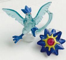 Clear Articuno & Starmie 2 RARA POKEMON Nintendo c.g.t.s.j Mini Figure 1 in (ca. 2.54 cm)