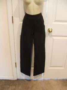 NWT HANES PETITE COMFORTSOFT  BLACK  PULL ON JOGGING  PANT   SIZE SMALL