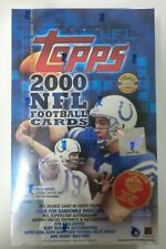 2000 TOPPS JUMBO NFL FOOTBALL HOBBY BOX JOHNNY UNITAS AUTO? SEALED NEW