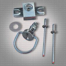 NDZ1 DZUS ¼ D-Ring Drehverschluss Schnellverschluss Verkleidung Niet Motorrad