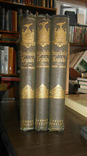 1855 The Ingoldsby Legends - (3 Volumes in Original Cloth) Richard Harris Barham