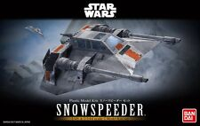 Bandai 1/48 Scale Model Kit Set Star Wars Snowspeeder (with 1/144 Snow Speeder)