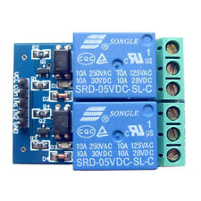5V 10A 2 Channel Relay Module Board Optocoupler Isolated Opto Expansion Board