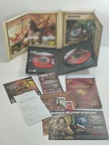 Age of Conan: 🔥Hyborian Adventures - PC - DVD-ROM - VERY GOOD All Paperwork 🔥