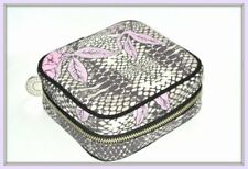 Bobbi Brown Peony & Python Beauty Case cosmetic bag new in box