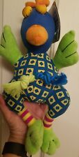NWT Precision Pet Products Trio 3 in 1 Toys Chicken Sqeaker Rope Canvas Toy