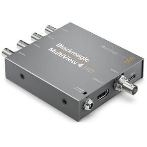 Blackmagic Design MultiView 4 HD- MULTIP3G/04HD - Ship from Miami