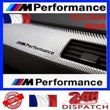 Sticker BMW M PERFORMANCE 15x1,2cm NOIRSticker BMW M PERFORMANCE 15x1,2cm NOIR