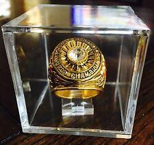 St. Louis Cardinals 1942 World Series Championship Ring w/ Displays Cube USA