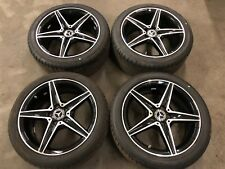 Set Of 4 Mercedes C Class AMG Wheels & Tyres | W205 A2054011100 A2054011200
