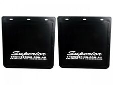 Superior Large White Mudflaps