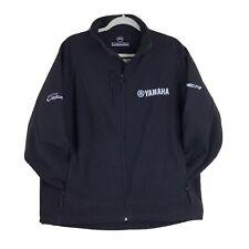 Yamaha Softshell Men's Full Zip Black Jacket Size L