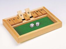 Würfelspiel SHUT THE BOX, Klassiker, Holz, komplett