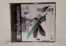 Rare Final Fantasy VII 7 Misprint Black Label for PS1 FF 7 (Complete Set)