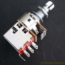 POTENTIOMETER+PULL SWITCH ELECTRIC GUITAR POT B500K NEW