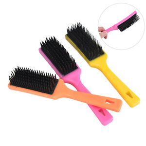 Mane and Tail De-tangle brush Tangle Wrangler Horse Cleaning Tool Massage G N IH