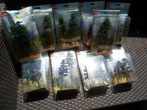 Kiefern Wald von Busch 10 Pack Kiefernwald Natur Modelbau 6143 6142 6144 6141