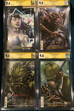 Clayton Crain signed 5 BOOK JUSTICE LEAGUE DARK COMIC SET  CGC 9.8 9.6 not CBCS