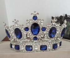 Women girls Royal Princess Tiaras Crown Hair Wedding Bridal Crystal Rhinestone