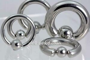 BCR,  Ball Closure Rings,  Steel rings, Captive bead rings,          All size's