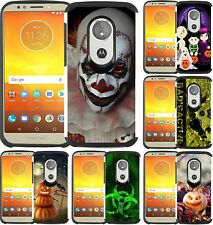For Motorola Moto E5 Play /Moto E5 Cruise Hybrid Case Phone Cover Halloween