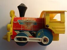 Vintage 1964 Fisher Price Toot Toot Train Engine Pull Toy 643