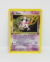 First Edition Mr. Mime Holo Pokemon Card Jungle Set Collection 6/64 1st Ed Foil