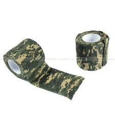 Outdoor Survival Kit Grass Green Camo Stealth Tape Camouflage Wrap Rifle Gun