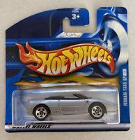 2000 Hotwheels Ferrari F355 355 Spider Silver Grey Mint! MOC!