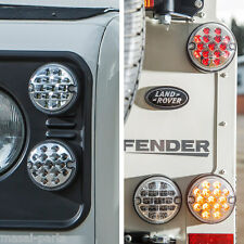 NAS style LED Lights Upgrade Kit for Land Rover Defender (95mm) - 11pcs CLEAR