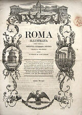 ROMA ARTE LETTERATURA POLITICA BLOCCO DI 46 PERIODICI ILLUSTRATI