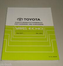 Manuale D'Officina Toyota Yaris / Eco Telaio / Corpo Ulteriori Stand 05/2002