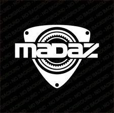 "Mazda Rotary 12A 13B ""Madaz"" Rotor RX8 RX7 RX5 RX3 RX2 Sticker"
