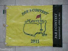 2011 PAR 3 THREE CONTEST MASTERS GOLF PIN FLAG AUGUSTA NATIONAL LUKE DONALD WINS