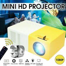 1080P LED Mini vidéo projecteur portable et compact avec accessoires UE plug