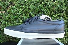 VANS VAULT 106 LX SZ 11 LEATHER BLACK WHITE VN 0IH3BLK