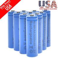 20 AA Rechargeable Batteries NiMH 3000mAh 1.2v Garden Solar Ni-MH Light LED USA