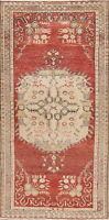 Antique Look Geometric Muted Anatolian Oriental Area Rug Wool Hand-Knotted 3'x6'