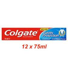 Colgate Cavity Protection Toothpaste 12 x 75 ml