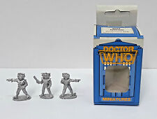 Vintage Doctor Who Miniature Boxed Set of 3 Cyberman FASA-9504